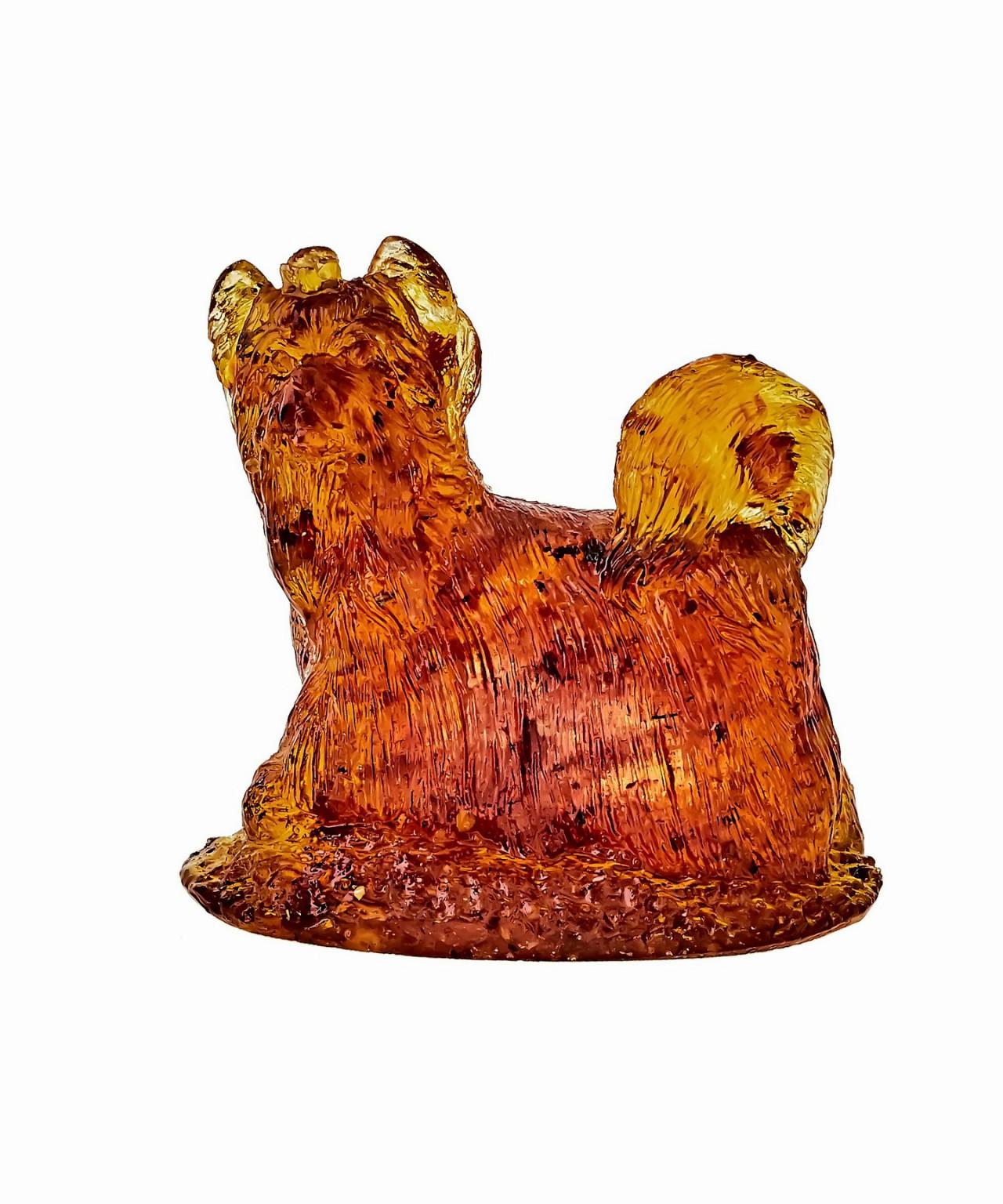 Собака Йорк Тори Янтарная 1393