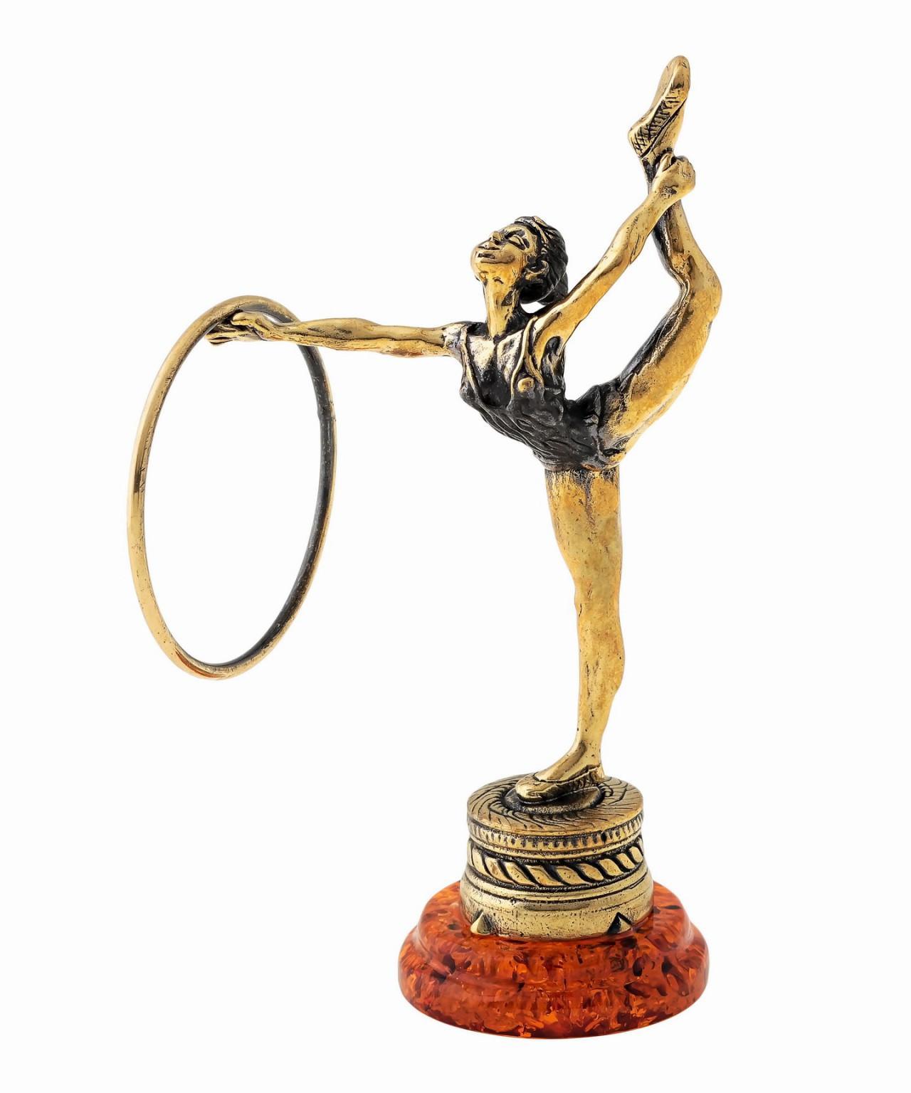 Спорт Гимнастка с обручем 1474